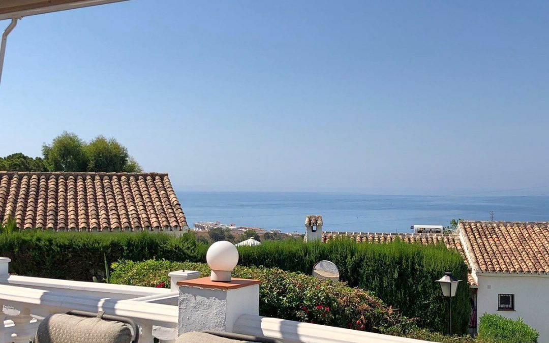 Cheap Sea View Villa for Sale in Benalmadena
